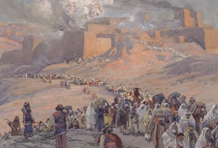 James Tissot, The Flight of the Prisoners