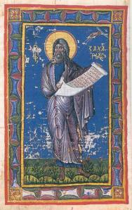 Russian Icon of the Holy Prophet Haggai