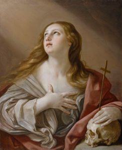 Guido Reni (1575-1642)-The Penitent Magdalene