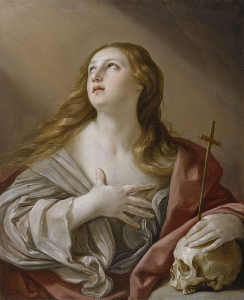 Guido Reni (1575-1642)-The Penitent Magdalene