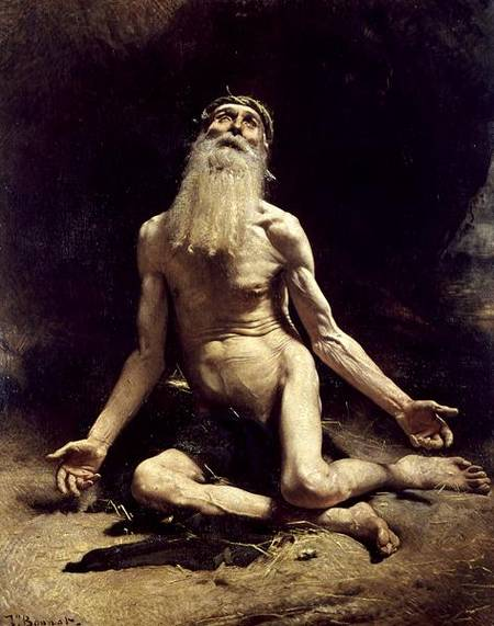 Job by Leon Bonnat (1880)