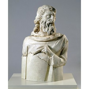 Bust of the Prophet Haggai by GIovanni Pisano, last quarter of the 13th Century