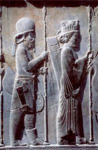 Persian and Median Soldier, Apadana Palace,Persopolis (Iran)