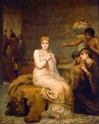 Vashti Refuses the King's Summons, painting by Edward Long (1879)