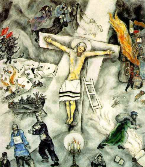 White Crucifixion, Marc Chagall