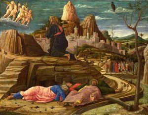 Andrew Mantegne's Agony in the Garden