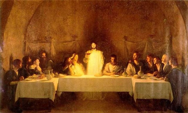 The Last Supper by Pascal Adolphe Dagnan-Bouvret