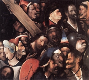 Hieronymus Bosch, Christ Carrying the Cross