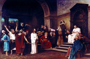Mihaly Munkasy, Christ Before Pilate