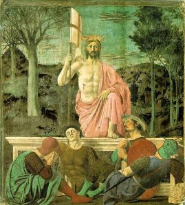 The Resurrection of Christ by Piero della Francesca