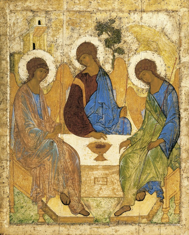 Rublev's Icon of the Holy Trinity