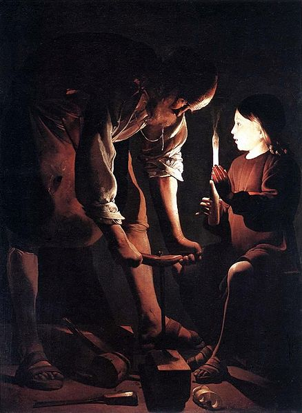 Saint Joseph the Carpenter, Georges de La Tour (1640)
