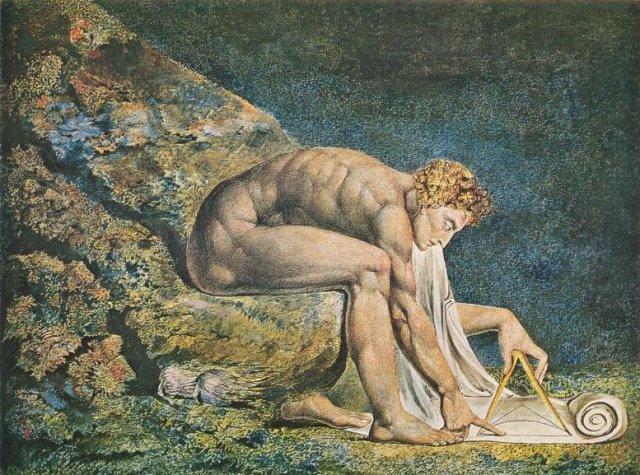 Newton by William Blake (1795)