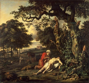 Jan Wijnants, The Parable of the Good Samaritan (1670)