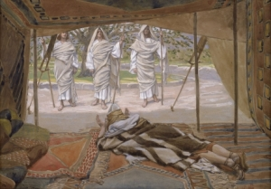 James Tissot, Abraham and the Three Angels