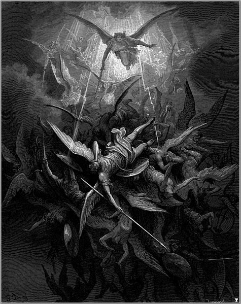 Illustration for John Milton's Paradise Lost by Gustav Dore (1866)