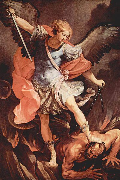 Archangel Michael by Guido Reni (1636)