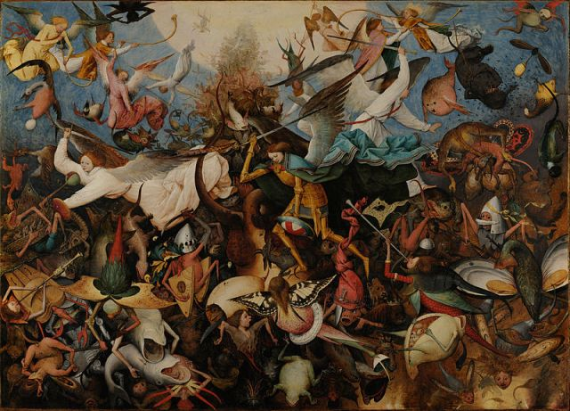 The Fall of the Rebel Angels by Pieter Bruegel the Elder (1562)