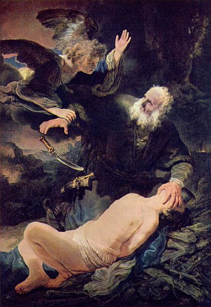 The Sacrifice of Isaac by Rembrandt (1635)