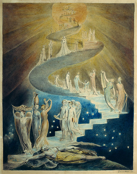 William Blake, Jacob's Dream (1805)