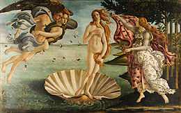 The Birth of Venus, Sandro Botticelli (1483-1485)