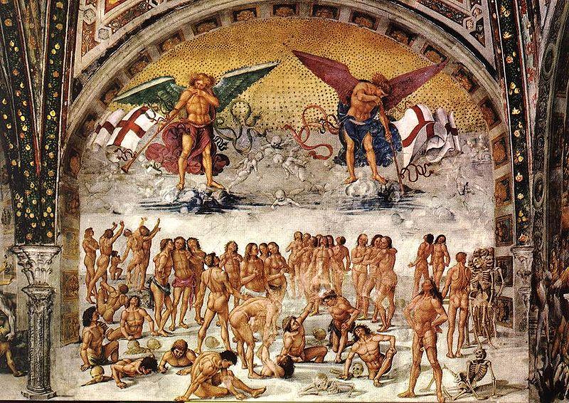 Luca Signorelli, Resurrection of the Flesh (1499-1502)