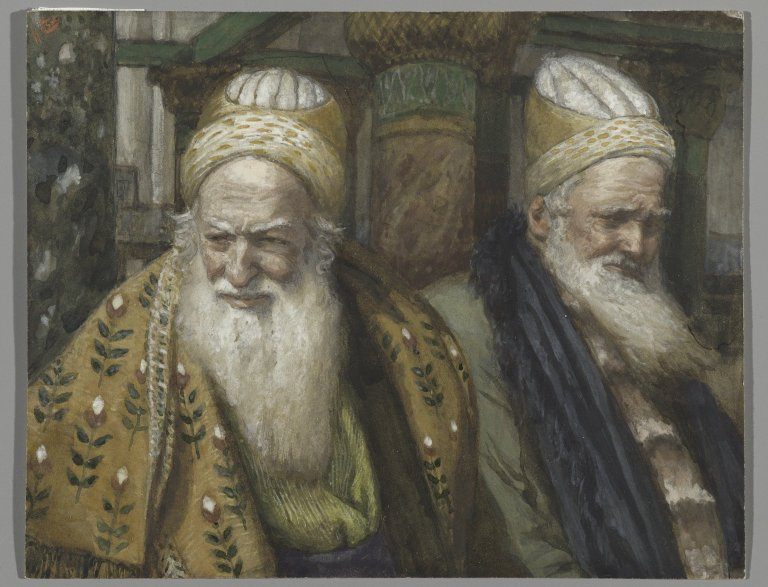 James Tissot, Annas and Ciaphas (between 1886-1894)