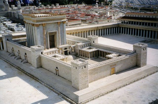 Model of the Second Temple at the time of Jesus