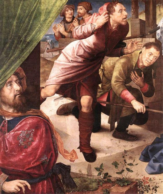 Hugo Van der Goes, The Adoration of the Shepherds 1480