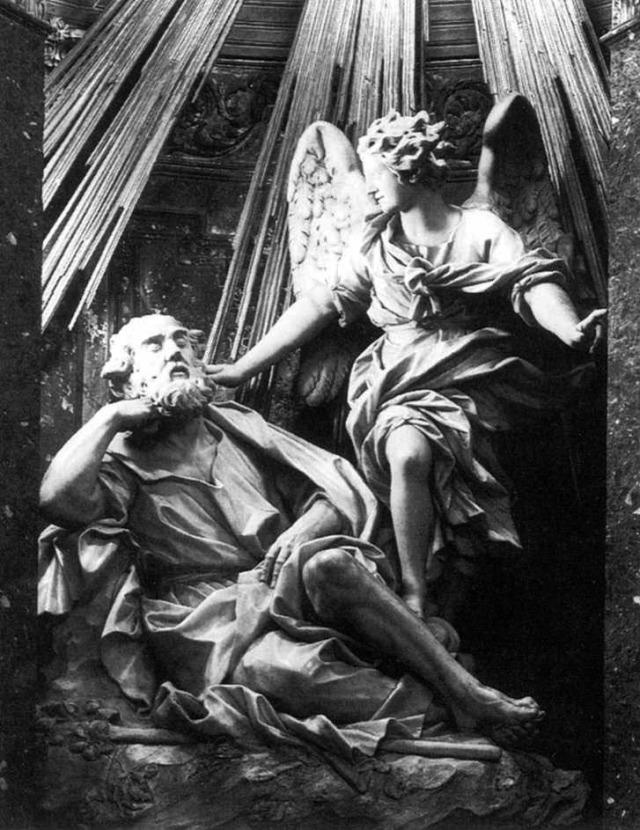 Domenico Guidi, Vision of St. Joseph 1694