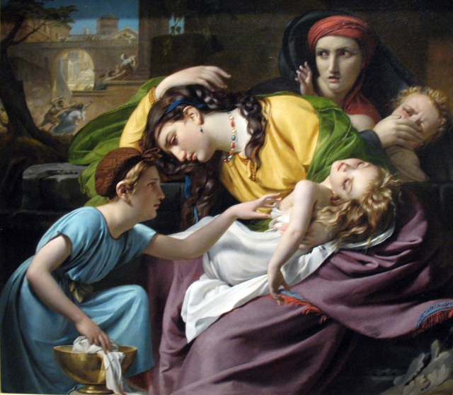 Francois-Joseph Navez, the Massacre of the Innocents 1824
