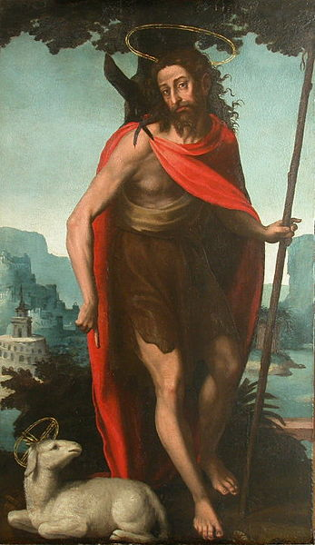 Joan de Joanes, Saint John the Baptist, 1560