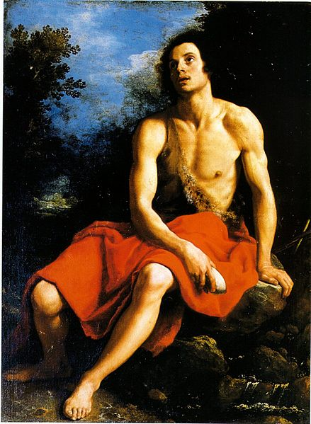Cristofano Allori, John the Baptist in the Desert, 17th Century