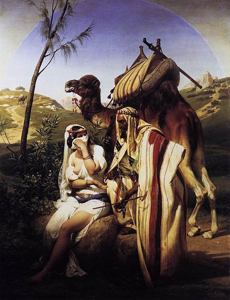 Horace Vernet, Judah and Tamar 1840