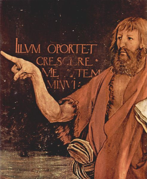 Matthias Grunewald, Detail from the Isenheimer Altar 1512-1516