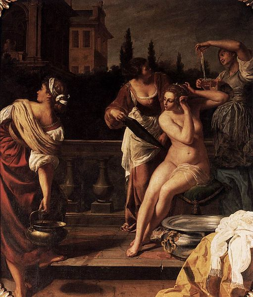 Artemisia Gentileschi, Bathshedba, first half of the 17th Century