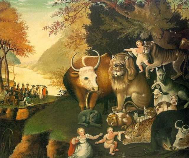 Edward Hicks, Peaceable Kingdom 1834