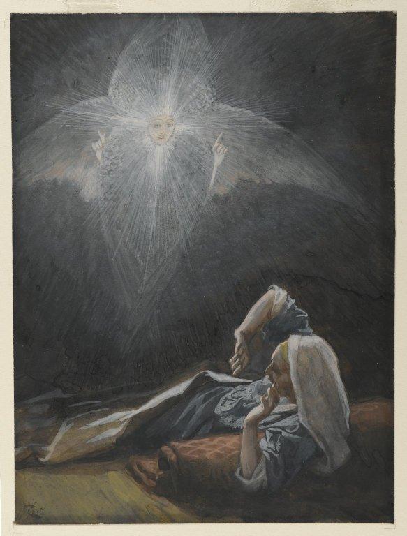 James Tissot, The Vision of Saint Joseph (1886-1894)