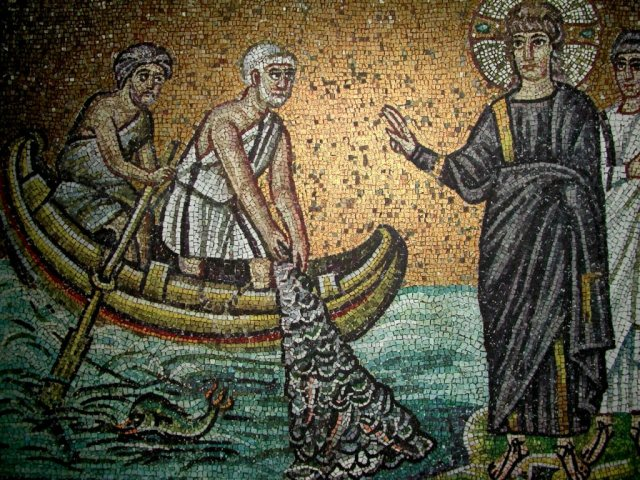 The Calling of the Apostles, Mosaics from San Marco, Santa Maria Assunta in Torcello and Murano