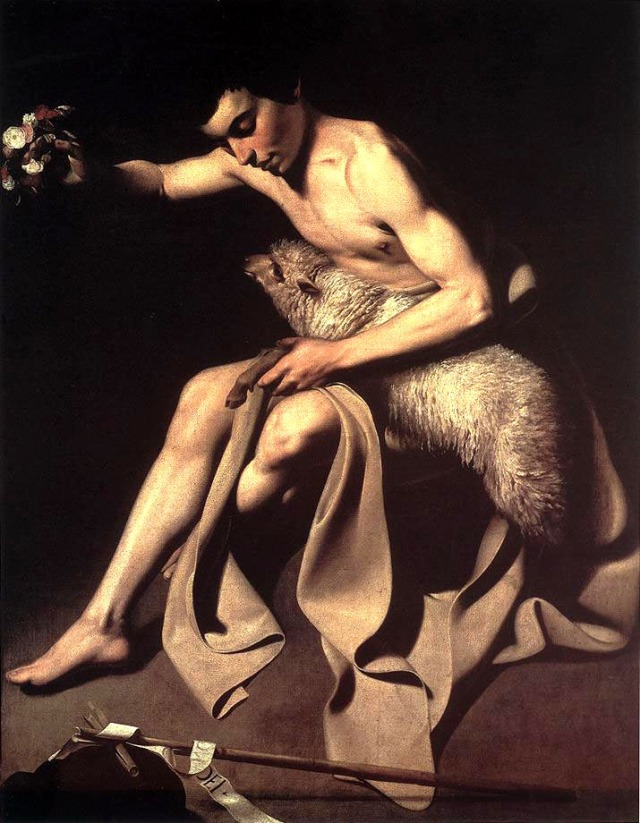 Carvaggio, St. John the Baptist