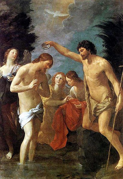 Guido Reni, The Baptism of Christ (1623)