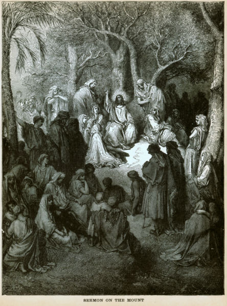 Gustave Dore, The Sermon on the Mount