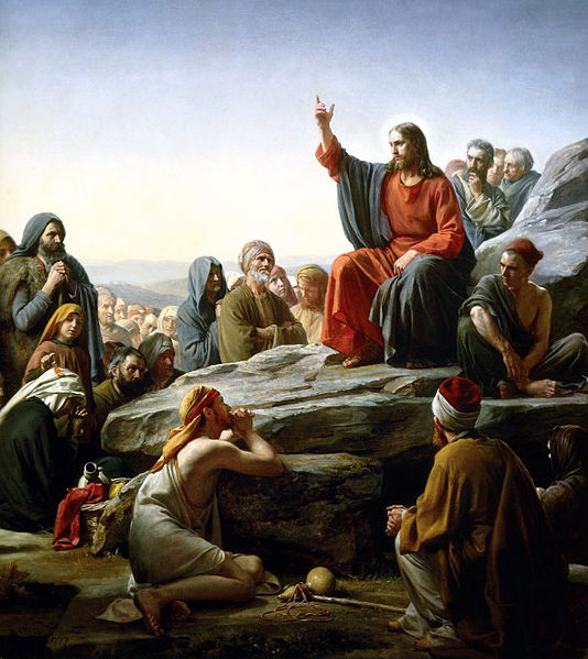 Carl Heinrich Block, The Sermon on the Mount (1834-1890)
