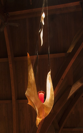Descending Dove in Grace Lutheran Church, Tacoma Washington