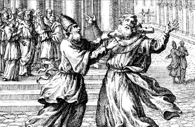 Weigel Engraving, Hananiah and Jeremiah