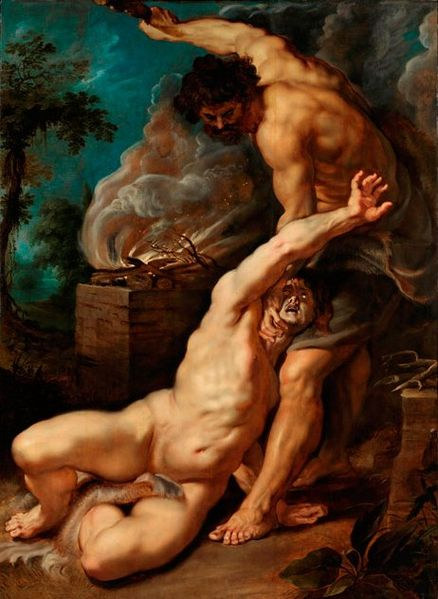 Peter Paul Rubens, Cain Slaying Abel, (1608-1809)