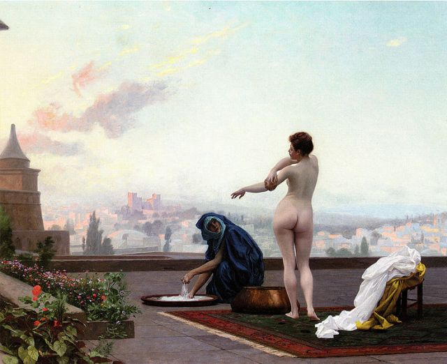 Jean-Leon Gerome, Bethsabee (1889 or 1885)