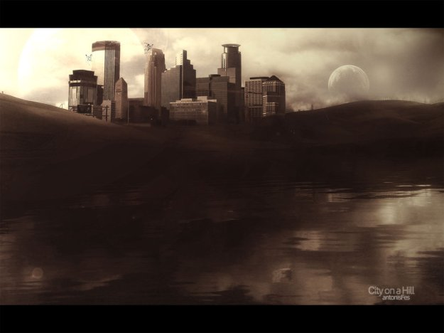 City on a Hill by antonisfes@deviantart.com