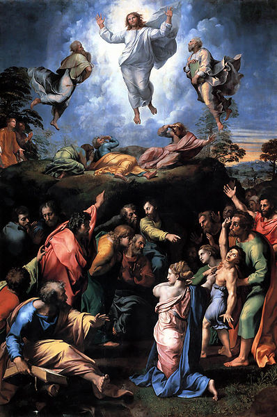 Transfiguration by Raphael, (1518-1520)