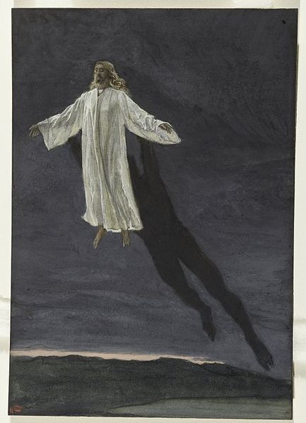 James Tissot, Jesus Transported by a Spirit up to a High Mountain